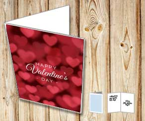 Happy Valentines day card  | Free printable for Valentines day