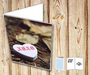Xoxo heart in the forrest  | Free printable for Valentines day