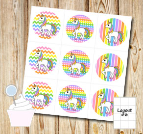 image about Unicorn Cupcake Toppers Printable identify Free of charge printable cupcake wrappers and toppers