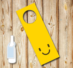 Neck tags with emojis  | Free printable neck tag