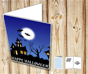 Halloween card  | Free printable for Halloween