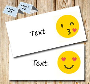 Gift tag with emojis 3 (free printable)